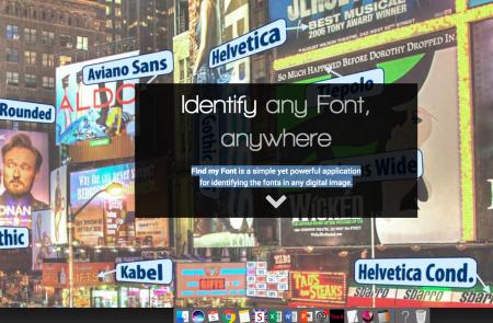 Con Find my Font puoi identificare i font in qualsiasi immagine digitale
