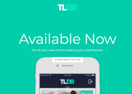TLDR: applicazione social per la selezione e la condivisione di notizie