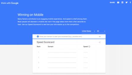 Google presenta due tool per analizzare la velocità dei siti web mobile
