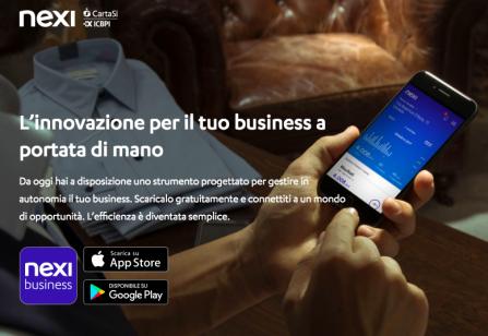 Nexi Business: app dedicata agli esercenti per monitorare le transazioni