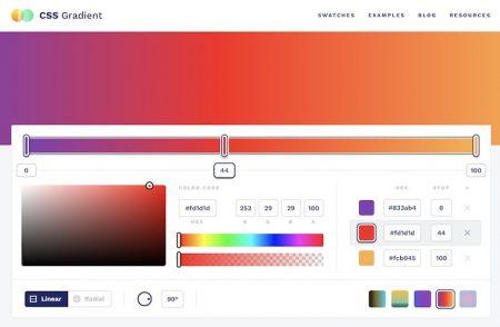CSS Gradient: tool utilissimo per generare gradienti cromatici