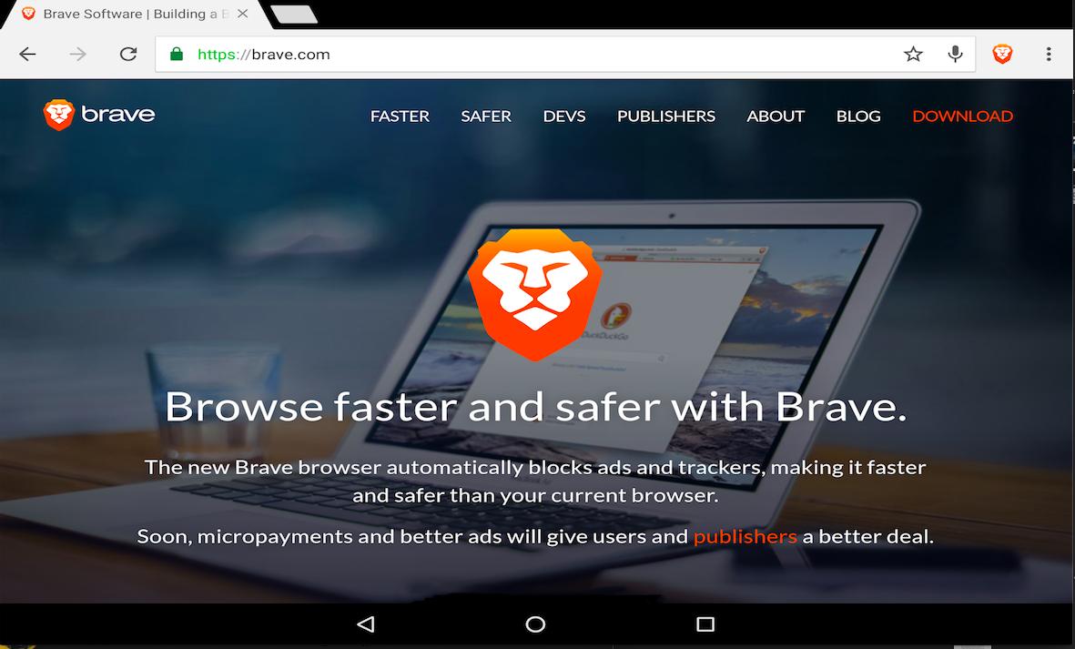 Brave: un browser sicuro, veloce e senza pubblicità
