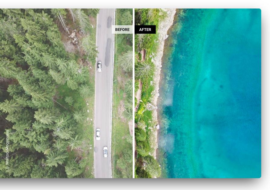 AirMagic, per migliorare la qualità delle foto scattate da droni
