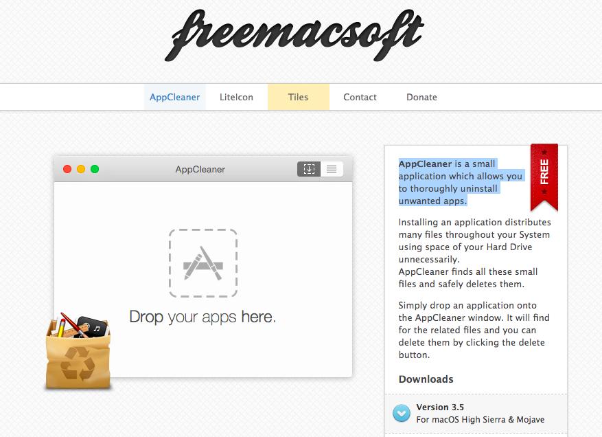 AppCleaner, per disinstallare le app indesiderate (su Mac e PC)