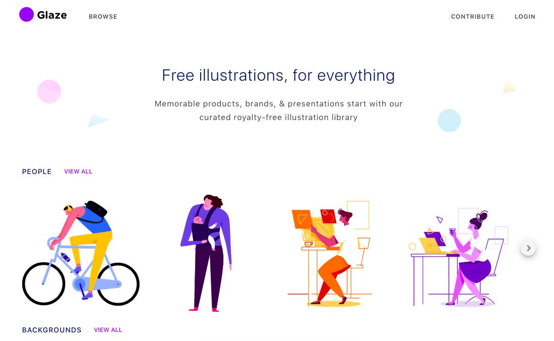 Glazestock: splendide illustrazioni (anche gratis) per i vostri progetti