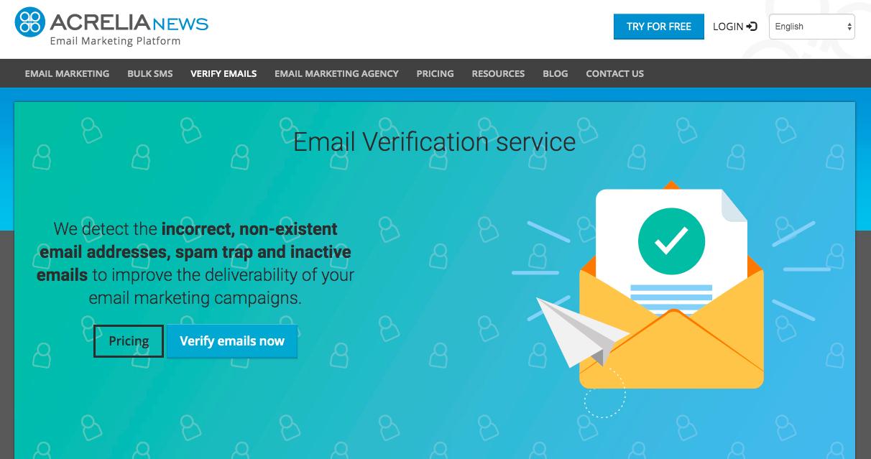 Acrelia: interessante servizio per la verifica degli indirizzi e-mail