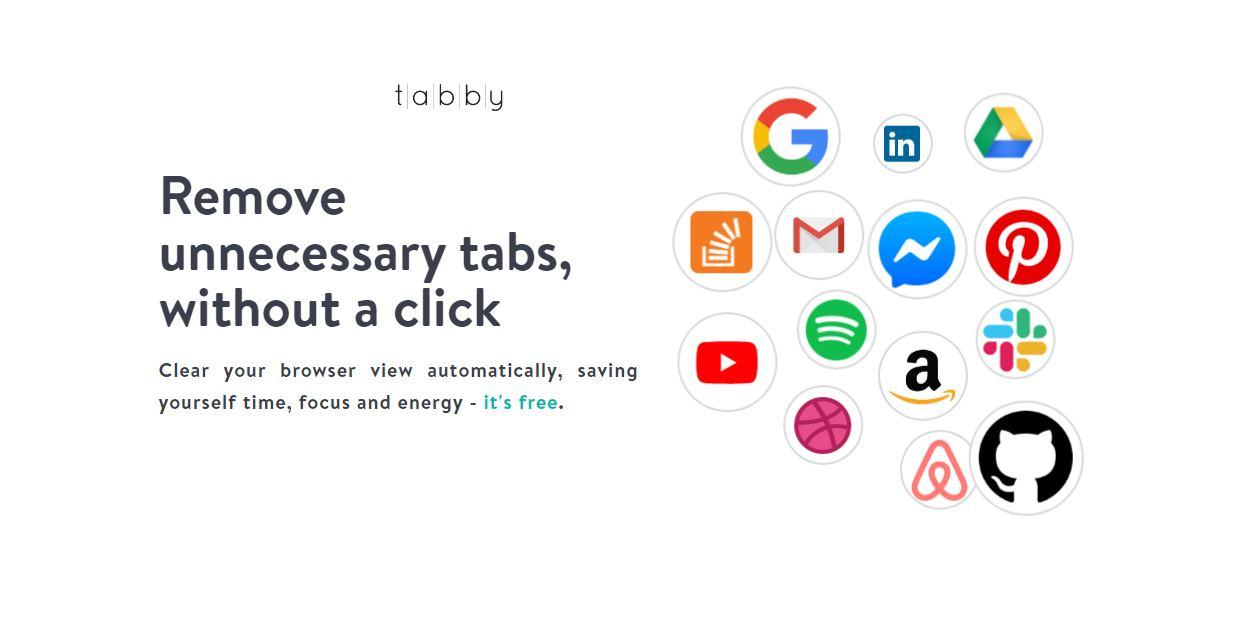 Tabby: un add-on gratuito che chiude le schede inutili sul browser
