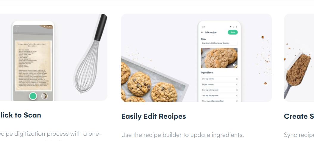 Scan to Whisk: app per scannerizzare e organizzare le ricette da altre fonti
