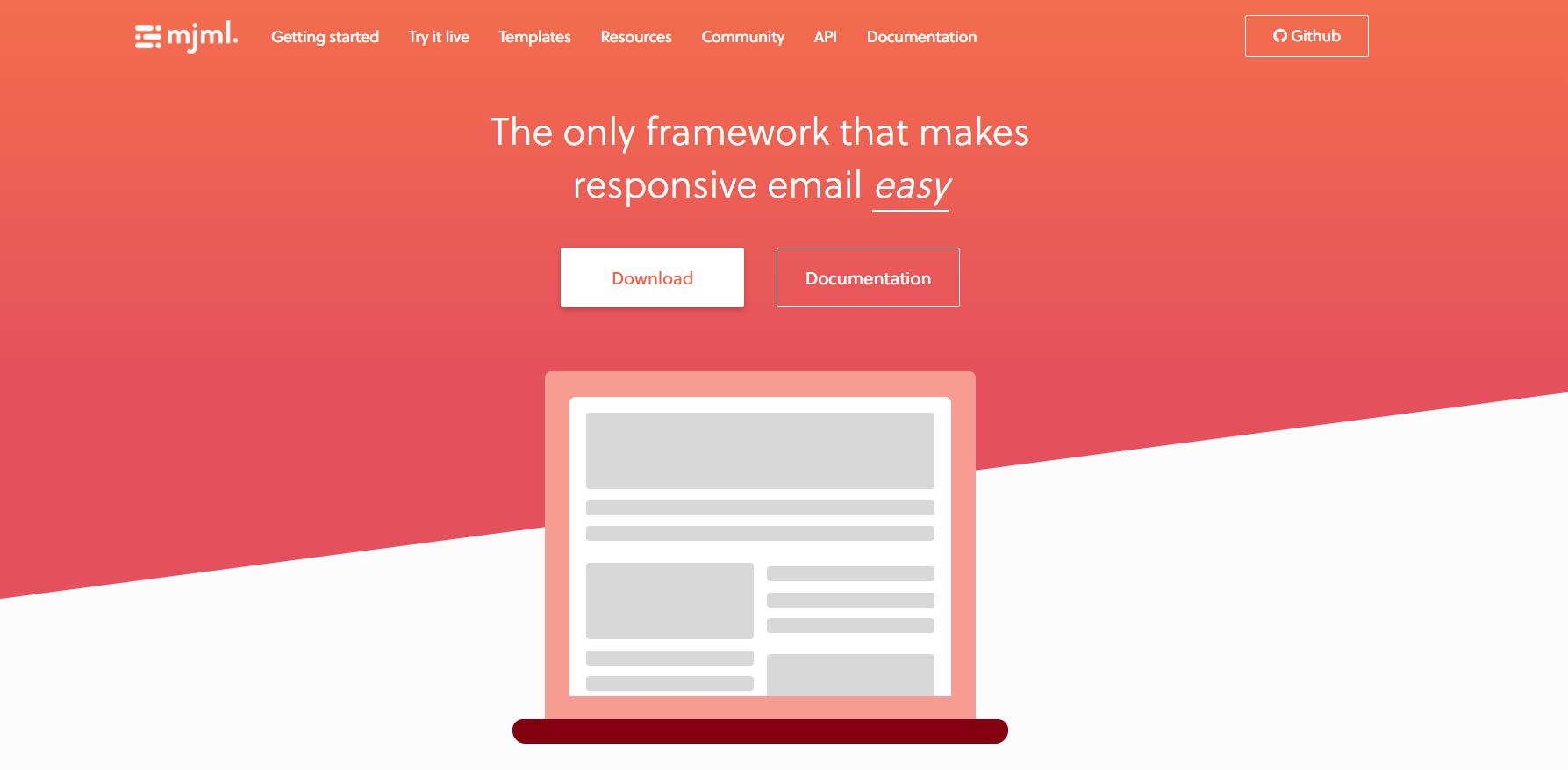 MJML: un framework per facilitare la codifica delle e-mail responsive