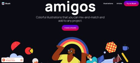 Amigos: creare illustrazioni non è mai stato così semplice