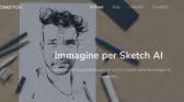 Con Sketcher AI si può trasformare una foto in un disegno