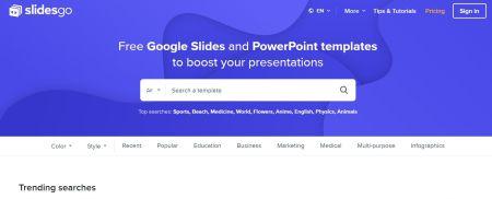 Slidesgo: presentazioni gratuite per Google e Powerpoint